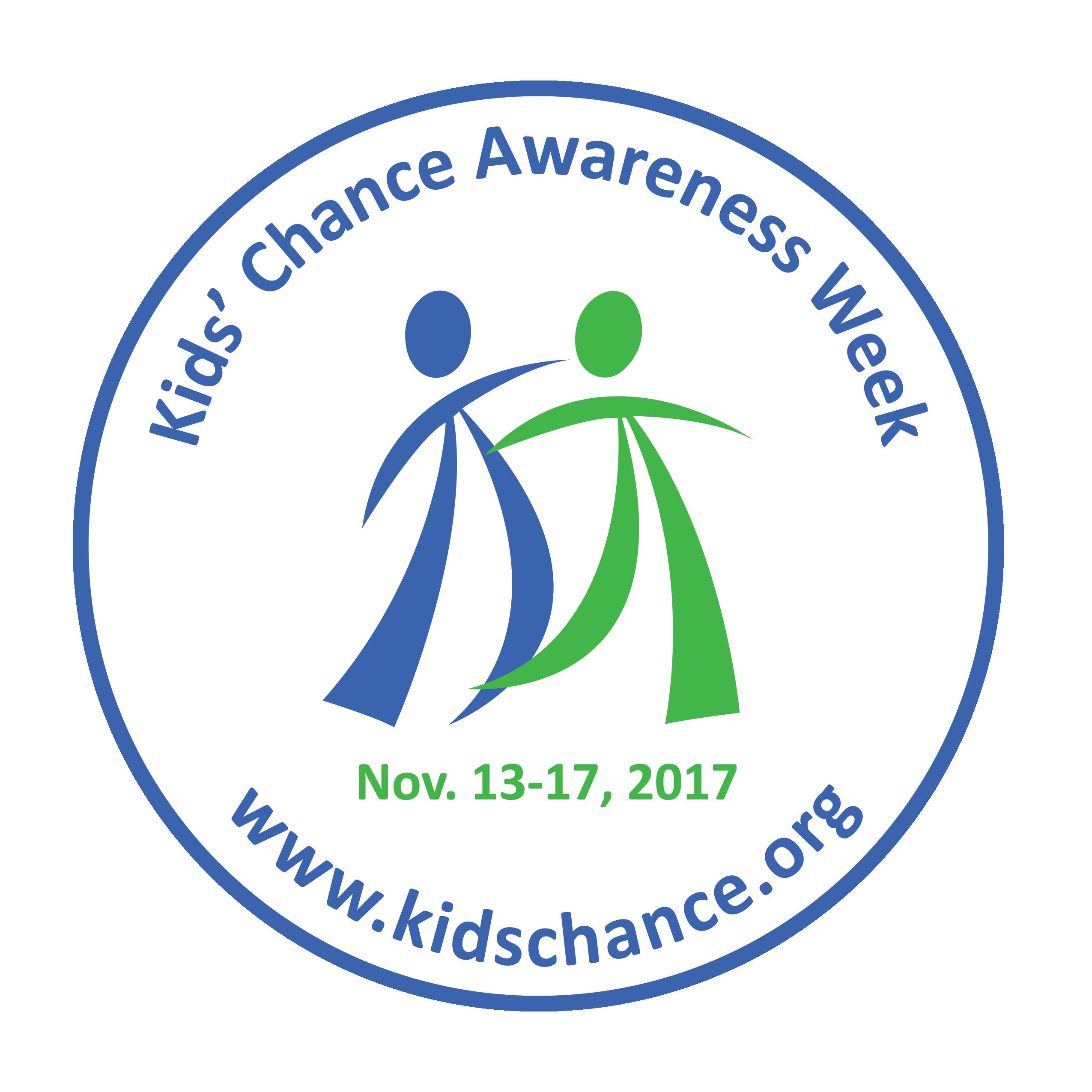 Kids' Chance Awareness Week Graphic